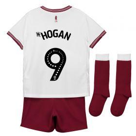 Aston Villa Away Infant Kit 2018-19 with Hogan 9 printing