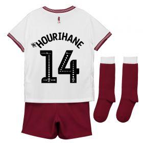 Aston Villa Away Infant Kit 2018-19 with Hourihane 14 printing