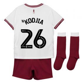 Aston Villa Away Infant Kit 2018-19 with Kodjia 26 printing