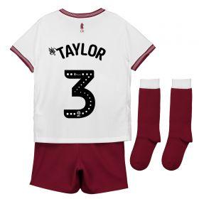 Aston Villa Away Infant Kit 2018-19 with Taylor 3 printing