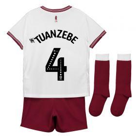 Aston Villa Away Infant Kit 2018-19 with Tuanzebe 4 printing