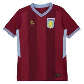Aston Villa Home Shirt 2018-19 - Kids with Abraham 18 printing