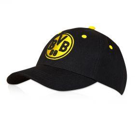 BVB Crest Cap - Black/Yellow