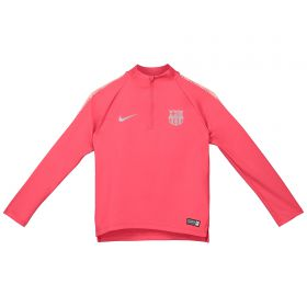 Barcelona Squad Drill Top - Pink - Kids