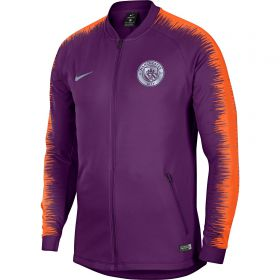 Manchester City Anthem Jacket - Purple