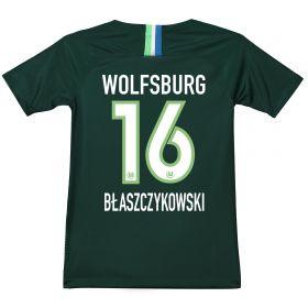 VfL Wolfsburg Home Stadium Shirt 2018-19 - Kids with Blaszczykowski 16 printing