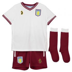 Aston Villa Away Infant Kit 2018-19 with Abraham 18 printing