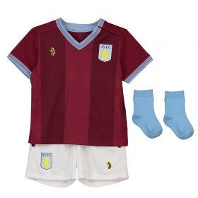 Aston Villa Home Baby Kit 2018-19 with Hogan 9 printing
