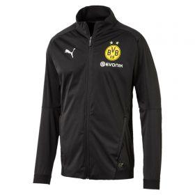 BVB Training Soft Shell Jacket - Black