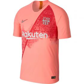 Barcelona Third Vapor Match Shirt 2018-19 with Sergio 5 printing