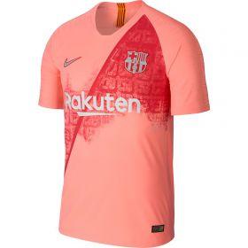 Barcelona Third Vapor Match Shirt 2018-19 with Suárez 9 printing