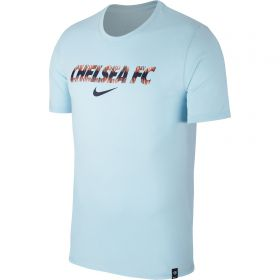 Chelsea Pre Season T-Shirt - Light Blue