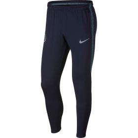 Chelsea Squad Training Pants - Dark Blue