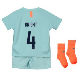 Chelsea Third Cup Stadium Kit 2018-19 - Infants with Bright 4 printing