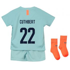 Chelsea Third Cup Stadium Kit 2018-19 - Infants with Cuthbert 22 printing