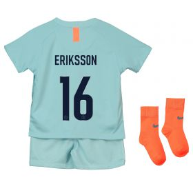 Chelsea Third Cup Stadium Kit 2018-19 - Infants with Eriksson 16 printing