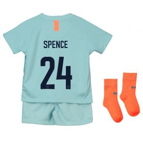 Chelsea Third Cup Stadium Kit 2018-19 - Infants with Spence 24 printing