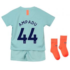 Chelsea Third Stadium Kit 2018-19 - Infants with Ampadu 44 printing