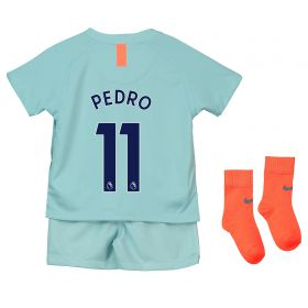 Chelsea Third Stadium Kit 2018-19 - Infants with Pedro 11 printing