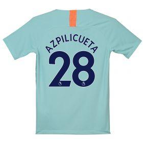 Chelsea Third Stadium Shirt 2018-19 - Kids with Azpilicueta 28 printing