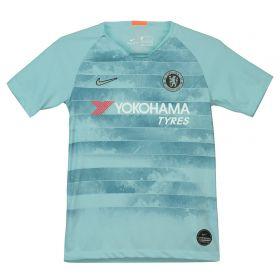 Chelsea Third Stadium Shirt 2018-19 - Kids with David Luiz 30 printing