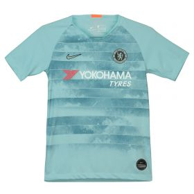 Chelsea Third Stadium Shirt 2018-19 - Kids with Hazard 10 printing