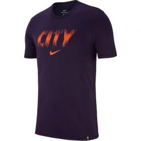 Manchester City Pre Season Tee - Purple