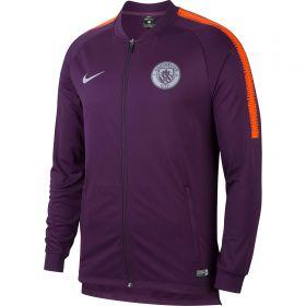 Manchester City Squad Track Jacket - Purple