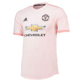 Manchester United Away Authentic Shirt 2018-19 with Fred 17 printing