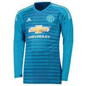 Manchester United Away Goalkeeper Shirt 2018-19 - Kids