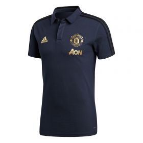 Manchester United UCL Training Polo - Navy