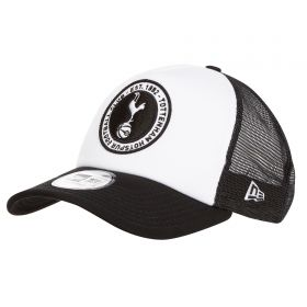 Tottenham Hotspur New Era Essential Trucker Cap - Black - Adult