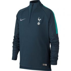 Tottenham Hotspur Squad Drill Top - Navy - Kids