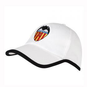 Valencia CF Core Crest Fan Cap - White - Junior