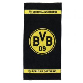 BVB Crest Towel - 100 x 50cm