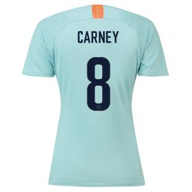 Chelsea Third Cup Stadium Shirt 2018-19 - Womens with Carney 8 printing