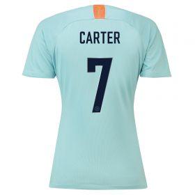 Chelsea Third Cup Stadium Shirt 2018-19 - Womens with Carter 7 printing