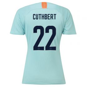 Chelsea Third Cup Stadium Shirt 2018-19 - Womens with Cuthbert 22 printing