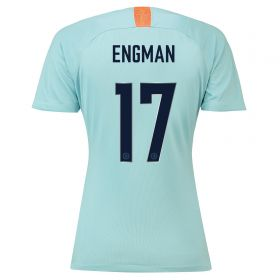 Chelsea Third Cup Stadium Shirt 2018-19 - Womens with Engman 17 printing