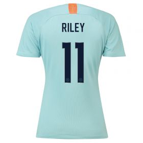 Chelsea Third Cup Stadium Shirt 2018-19 - Womens with Riley 11 printing
