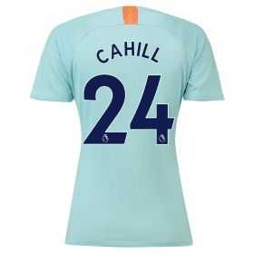 Chelsea Third Stadium Shirt 2018-19 - Womens with Cahill 24 printing