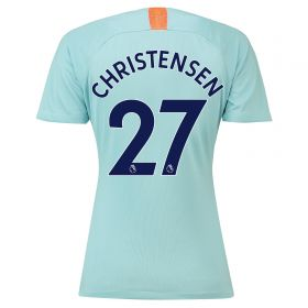 Chelsea Third Stadium Shirt 2018-19 - Womens with Christensen 27 printing