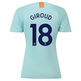 Chelsea Third Stadium Shirt 2018-19 - Womens with Giroud 18 printing