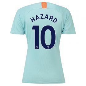 Chelsea Third Stadium Shirt 2018-19 - Womens with Hazard 10 printing
