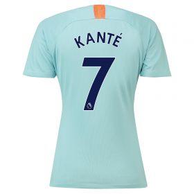 Chelsea Third Stadium Shirt 2018-19 - Womens with Kanté 7 printing