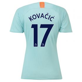 Chelsea Third Stadium Shirt 2018-19 - Womens with Kovacic 17 printing