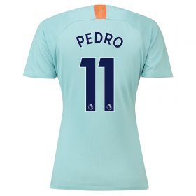 Chelsea Third Stadium Shirt 2018-19 - Womens with Pedro 11 printing