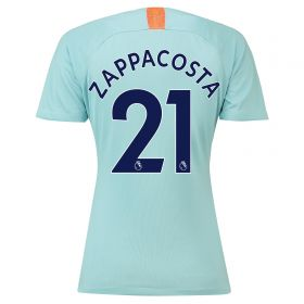 Chelsea Third Stadium Shirt 2018-19 - Womens with Zappacosta 21 printing