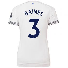 Everton Third Shirt 2018-19 - Womens with Baines 3 printing