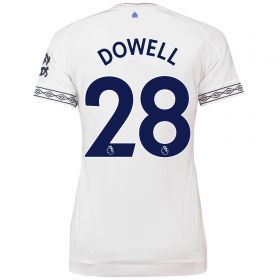 Everton Third Shirt 2018-19 - Womens with Dowell 28 printing